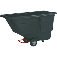 Rubbermaid Tilt Truck — 600-Lb. Capacity, Model# FG9T1800BLA