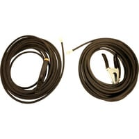 Hobart Welding Stick Cable Set — No. 2, 50ft. Electrode Cable with Holder, 50ft. Work Cable with Clamp, 2-Pc. Set, Model# 195195