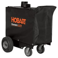 Hobart Welder Generator Cover - Fits Hobart Champion Elite Welders with Rear-Exhaust, Model# 770714