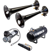 Wolo Western Express Pro Plus Train Horn — 2 Trumpets, 5-Gal., 125 dB, Model# 870-860