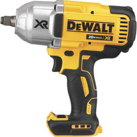 FREE SHIPPING — DEWALT 20V MAX XR Lithium-Ion Cordless Brushless 1/2in. Impact Wrench — Tool Only, Hog Ring, 700 Ft.-Lbs. Torque, Model# DCF899HB