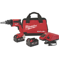 Milwaukee M18 Cordless Drywall Screw Gun — With Battery, 18 Volt, Model# 2866-20
