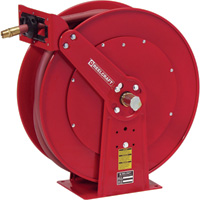 Reelcraft Spring Retractable Hose Reel — With 1in. x 50ft. PVC Hose, Max. 250 PSI, Model# D84050 OLP