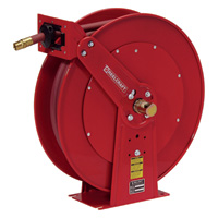 Reelcraft Spring Retractable Hose Reel — With 3/4in. x 50ft. PVC Hose, Max. 250 PSI, Model# 83050 OLP