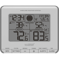 LaCrosse Technology Wireless Weather Station with Remote Sensor — Model# T83646