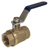 Apache Forged Brass Hydraulic Valve — 600 PSI, 3/4in.