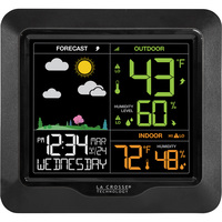 La Crosse Technology Wireless Color Forecast Station — Model# S85814
