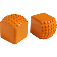 RoofZone Replacement Rubber Stops — 1 Pair, Works with RoofZone Ladder Model#s 65025 and 48586