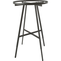 Econoco Height Adjustable Round Folding Rack — Black, 36in. Diameter x 48in.—66in.H, Model# KR36/MAB
