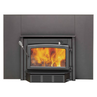 Century Heating High-Efficiency Wood Stove Fireplace Insert — 65,000 BTU, EPA-Certified, Model# CB00019