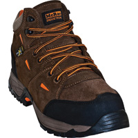 McRae 5in. Industrial Work Hiker Boots with Metatarsal Guards and Composite Toes — Brown/Orange, Size 7, Model# MR83701