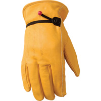 Wells Lamont Men's Full-Grain Cowhide Fencer Glove — Saddle