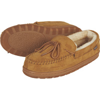 Apres by Lamo Men's Merino Moccasins — Chestnut