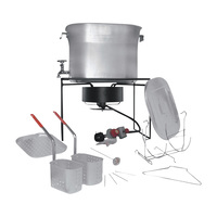King Kooker Outdoor Chef's Hot Tub — 33,000 BTU Burner, Model# 2864