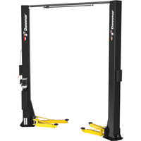 FREE SHIPPING — Dannmar 2-Post Asymmetric Narrow Truck and Car Lift — 10,000Lb. Capacity, Model# Brigadier 10AC
