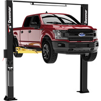 FREE SHIPPING — Dannmar 2-Post Symmetric Wide Truck and Car Lift — 10,000Lb. Capacity, Model# Brigadier 10CX