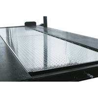 FREE SHIPPING — Dannmar Solid Aluminum Deck Option for Dannmar Commander 4-Post Truck and Car Lifts — Model# Aluminum Deck