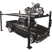 FREE SHIPPING — Dannmar 4-Post Truck and Car Lift — 7000-Lb. Capacity, 85in. Max Rise, Model# Commander 7000XX