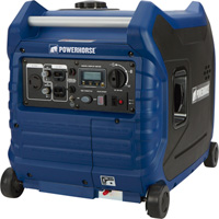 FREE SHIPPING — Powerhorse Inverter Generator — 3500 Surge Watts, 3000 Rated Watts, Electric Start, EPA and CARB Compliant, Model# LC3500i