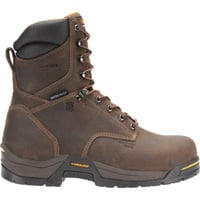 Carolina 8in. Waterproof Insulated EH Work Boots — Dark Brown, Model CA8021