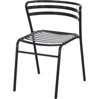 Mayline Safco CoGo Steel Outdoor/Indoor Stack Chairs — 1 Pair