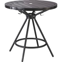 Mayline Safco CoGo Steel Outdoor/Indoor Table — 30in. Round