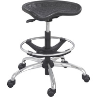 Mayline Safco SitStar Stool with Chrome Base