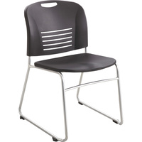 Mayline Safco Vy Chairs with Sled Base — Set of 2