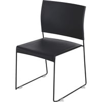 Mayline Safco Currant High-Density Stack Chairs — Set of 4