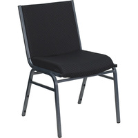 Flash Furniture Fabric Metal Stack Chair, 550-Lb. or 1,000-Lb. Capacity