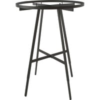 Econoco Round Folding Rack with Rectangular Tubing — 48in.–66in.H