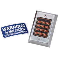 Scarecrow Alarm Simulated Decoy Key Pad, Model# DSB-137C-01