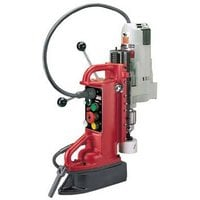 FREE SHIPPING — Milwaukee Electromagnetic Drill Press Base and 12.5 Amp Motor — Adjustable Position, Model# 4206-1