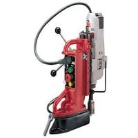 FREE SHIPPING — Milwaukee Electromagnetic Drill Press Base and 2-Speed, 12.5 Amp Motor — Adjustable Position, Model# 4209-1