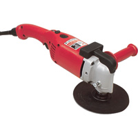 FREE SHIPPING — Milwaukee Electric Polisher — 11 Amp, 7in./9in. Pad, Model# 5455