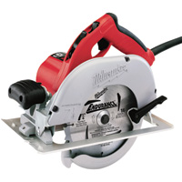 FREE SHIPPING — Milwaukee (Corded) Circular Saw — Left Blade, 15 Amps, 7 1/4in., Model# 6391-21