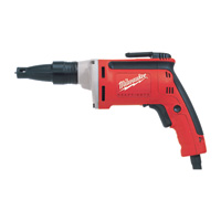 FREE SHIPPING — Milwaukee Corded Electric Drywall Screwdriver — 6.5 Amps, 4000 RPM, Model# 6742-20