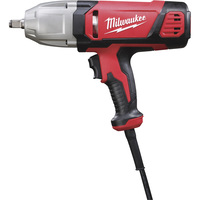 FREE SHIPPING — Milwaukee Electric Impact Wrench — 7 Amps, 1/2in., 300Ft.-Lbs. Torque, Model# 9071-20