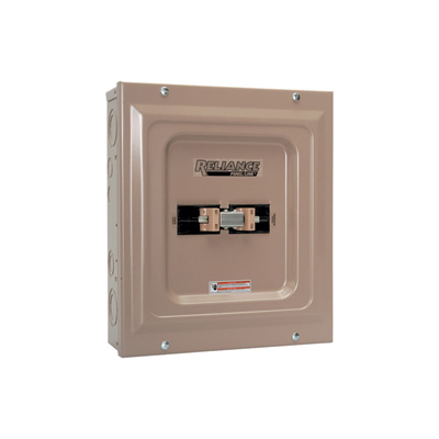 Reliance Generator Transfer Switch — 100 Amp, 240 Volt, Model# TCA1006D