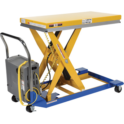 DC Powered Lift Tables + Carts