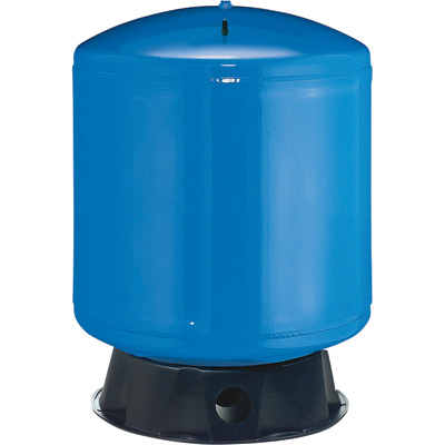 Flotec Vertical Pre-Charged Water System Tank — 50-Gallon Capacity, Equivalent to a 120-Gallon Capacity Tank, Model# FP7125