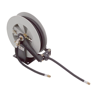Liquidynamics Retractable Oil Hose Reel — 1/2in. x 25ft., 750 PSI, Model# 43001-01L