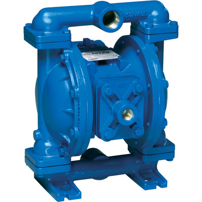Sandpiper Air-Operated Double Diaphragm Oil Pump — 1in. Inlet, 45 GPM, Aluminum/Buna, Model# S1FB1ABWANS000