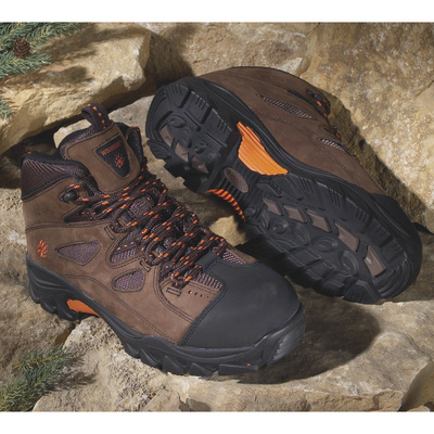 Wolverine Men's Hudson Steel-Toe EH Hiker - Size 11 Wide, Model# W02194
