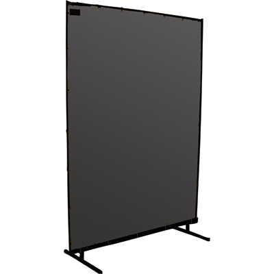 Steiner Protect-O-Screen Classic Welding Screen — Gray Transparent Vinyl, 6ft. x 8ft., Model# 53286