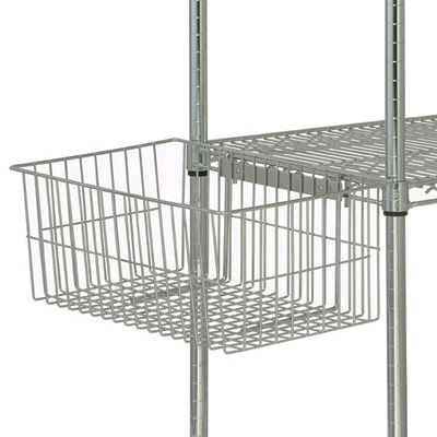 Quantum Wire Shelving Accessories — Utility Basket, Model# UB10