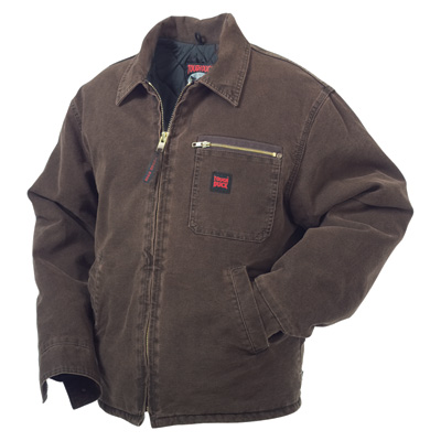"""Tough Duck Washed Chore Jacket - XL, Chestnut"""