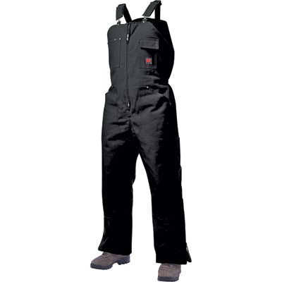 Tough Duck Men's Insulated Overall - 3XL, Black