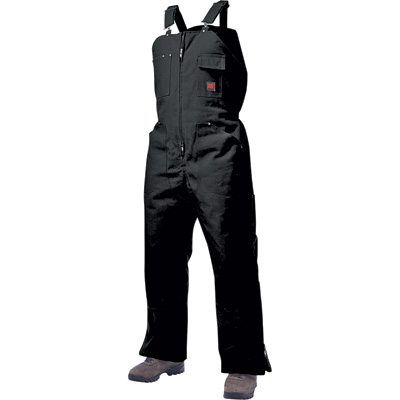Tough Duck Men's Insulated Overall - XL, Black