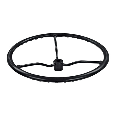 A & I Replacement Steering Wheel — Fits Ford/New Holland Tractors with Steel Spoke and 36 Spline Hub, Model# 8N3600